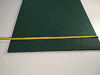 Резиновая плитка для сада 1000х1000 мм. Зеленая.Толщина 10 мм, фото 1