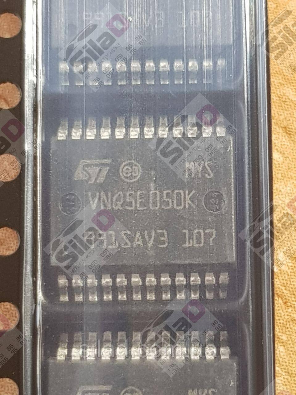 Мікросхема VNQ5E050K STMicroelectronics корпус PowerSSO-24 4-Channel 4,5-28V 27A