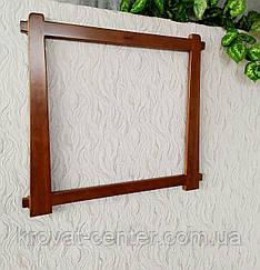 """Дерев'яна рамка для дзеркала """"Робін"""" від виробника"""