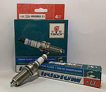 """Свічка запалювання IRIDIUM+U Hyundai Santa Fe, Kia Sportage, Suzuki SX4 (компл. 4 шт.) """"Torch"""""""