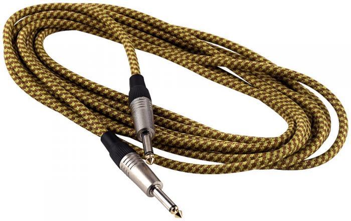 Інструментальний кабель ROCKCABLE RCL30203 TC D/GOLD