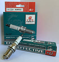 """Свічка запалювання EFFECTIVE+U УАЗ Hunter, Patriot, Chevrolet Lacetti 1.8 (компл. 4 шт.) """"Torch"""""""