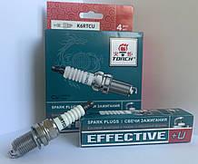 """Свічка запалювання EFFECTIVE+U ГАЗ 3302,Lada Largus 1.6, Chevrolet Lacetti 1.8 (компл. 4 шт.) """"Torch"""""""