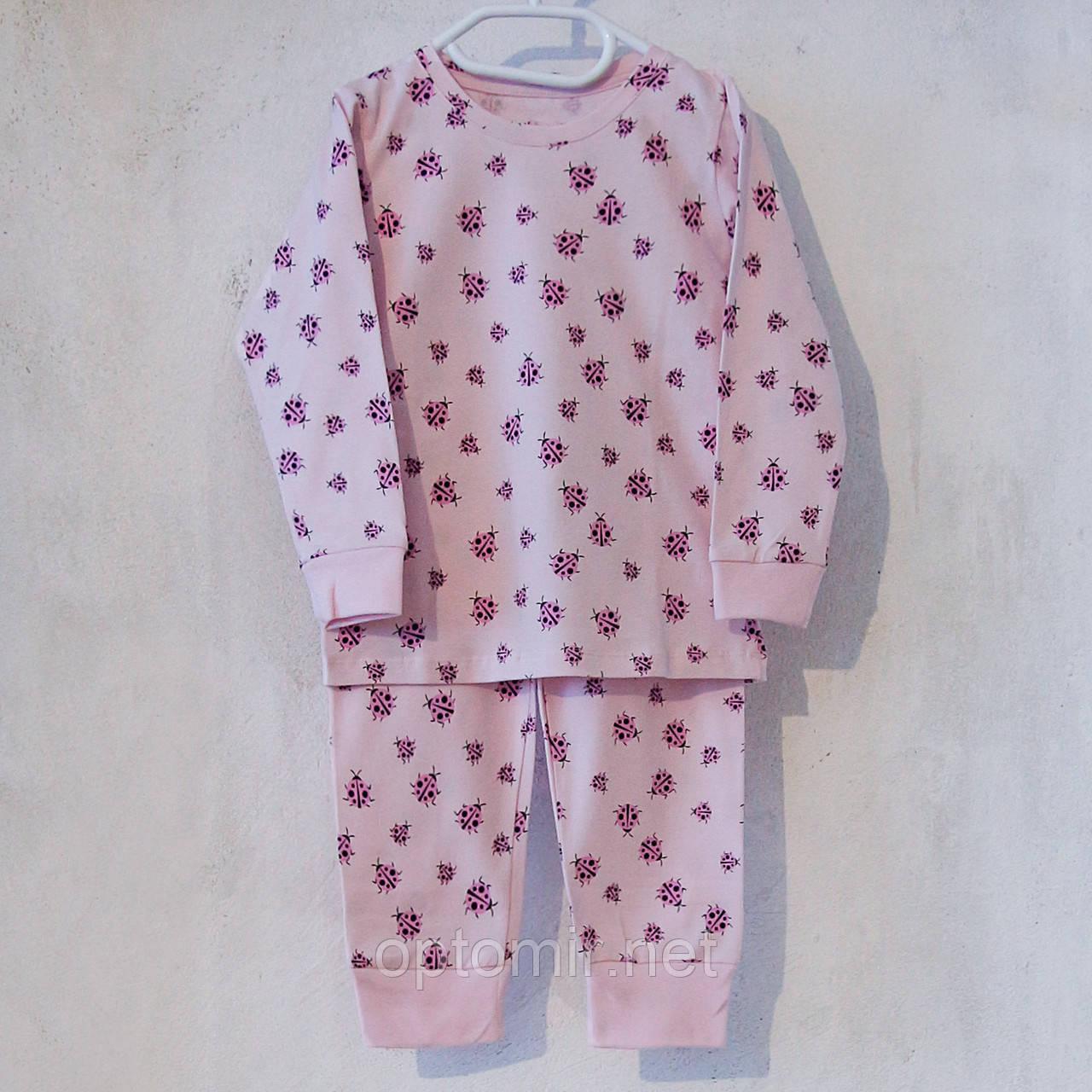 Пижама детская Donella Турция розовая для девочки на 2/3 года | 1 шт.