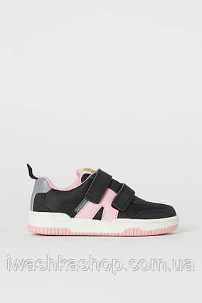Водонепроницаемые кроссовки с отражателями, спортивная обувь на девочек 27 р., H&M