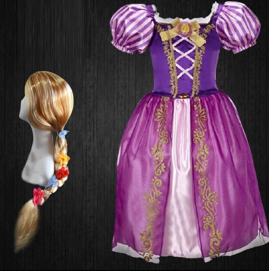 Костюм дитячий карнавальний принцеса Рапунцель - Rapunzel