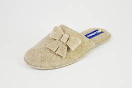Тапочки фетровые Inblu EF21 песочные