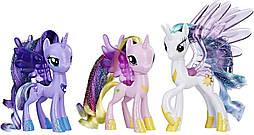 Май Литл Пони Парад принцесс Селестия Луна Каденс блестящие My Little Pony Princess Celestia Luna Cadance