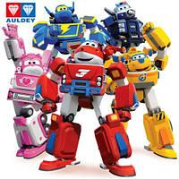 Игрушки из мультфильма Супер крылья - Джетт и его друзья Super Wings