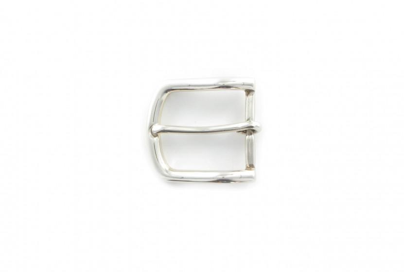 Пряжка латунная ременная BP0041 35 мм Специальное серебро (AS)