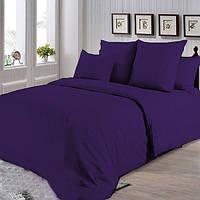 Фиолетовое постельное постельное белье. Семейный комплект