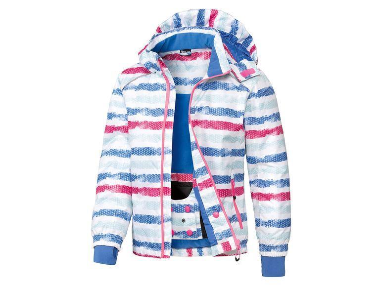 Водоотталкивающая куртка для девочки Crivit 122/128