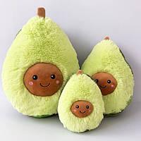 Авокадо мягкая плюшевая игрушка 40 см