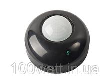Датчик движения инфракрасный черный 360° (WT275, HL480)