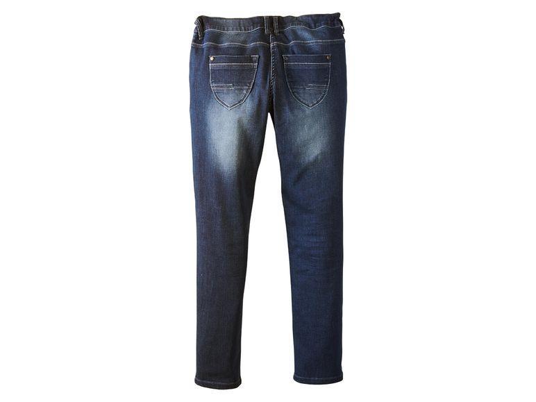 Демисезонные зауженные джинсы для девочки Pepperts 152