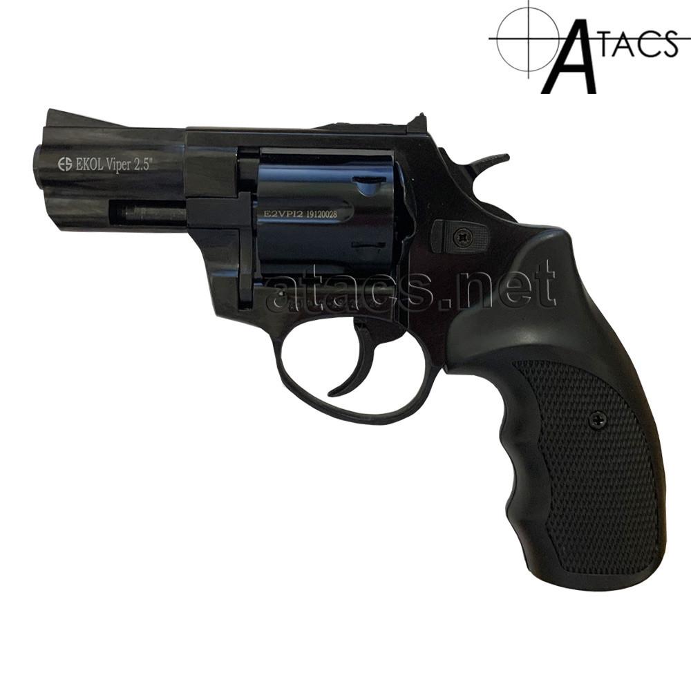 Револьвер шумовой Ekol Viper 2.5 9мм,черный