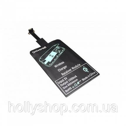 Ресивер QI MicroUSB, адаптер для беспроводной зарядки, приемник, фото 2