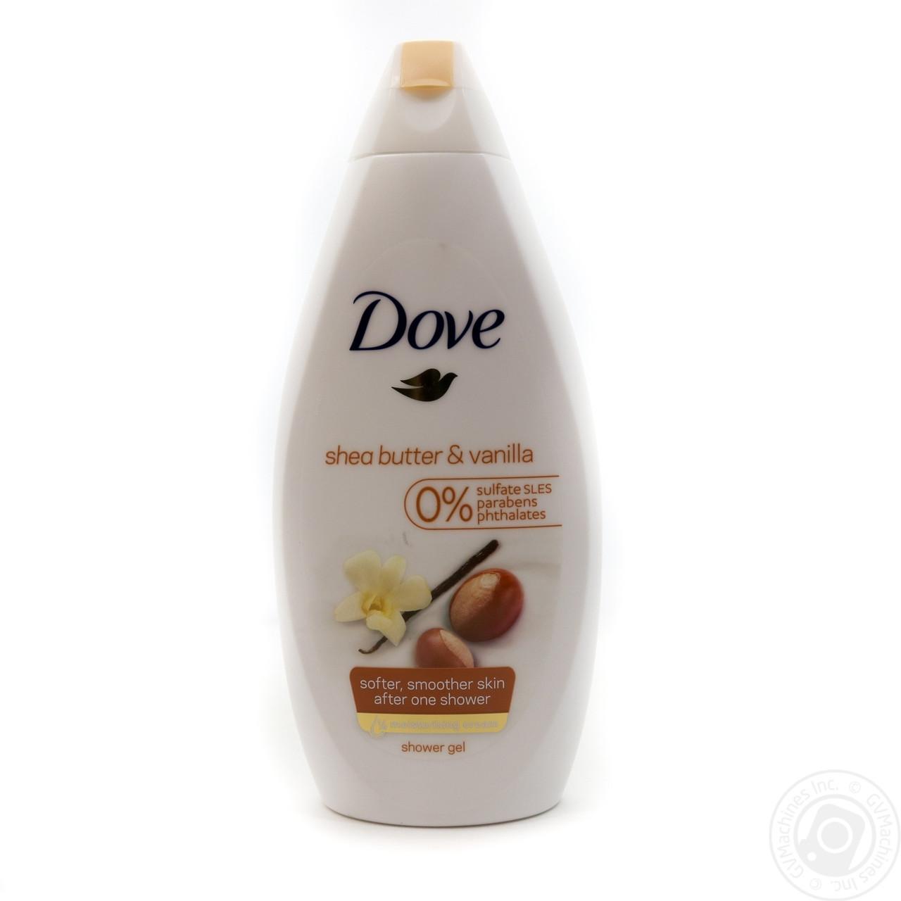 Крем-гель для душа Dove Масло ши та ваніль 250мл
