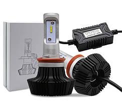 Світлодіодна лампа цоколь HB4, GSP CREE 6000К, 8000 lm 45W, 9-36В