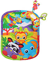 Развивающий коврик Зоопарк с подушечкой -  0186988