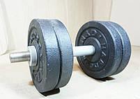 Гантелі 8 кг х2 (25 мм), фото 4
