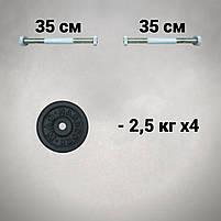 Гантелі 12 кг х2 (25 мм), фото 2