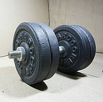 Гантелі 12 кг х2 (25 мм), фото 4