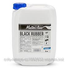 """Очисник-кондиціонер для шин (на водній основі)Концентрат 1-3 """"Black Rubber""""/5л"""