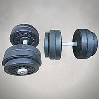 Гантелі 15 кг х2 (25 мм), фото 2