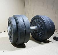 Гантелі 15 кг х2 (25 мм), фото 4