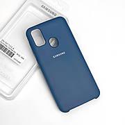 Силиконовый чехол на Samsung M30s  Soft-touch Denim