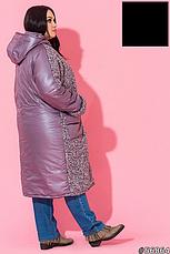 Куртка женская удлиненная размеры: 52-66, фото 3