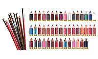 Карандаш для губ и глаз Malva Cosmetics Professional Pencil, деревянный, алоэ и витамин Е, М 319, фото 1