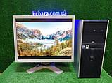 """ПК HP + мон 22""""VA Eizo, Intel E7500 2.93Ггц, 4 ГБ, 160 ГБ Настроен! Есть Опт! Гарантия!, фото 8"""