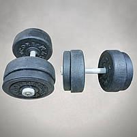 Гантелі 17 кг х2 (25 мм), фото 2