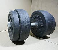 Гантелі 17 кг х2 (25 мм), фото 4