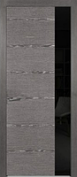 Двери межкомнатные (дубовый шпон тонированный) Амстердам со стеклом Лакобель