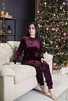 РАЗНЫЕ ЦВЕТА!!! Женская пижама кофта и штаныдля дома и сна теплая, пижама плюшевый велюр