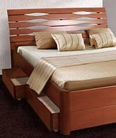 """Кровать """"Мария Люкс"""" с 4 ящиками 1,8 м, фото 1"""