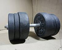 Гантелі 22 кг х2 (25 мм), фото 4