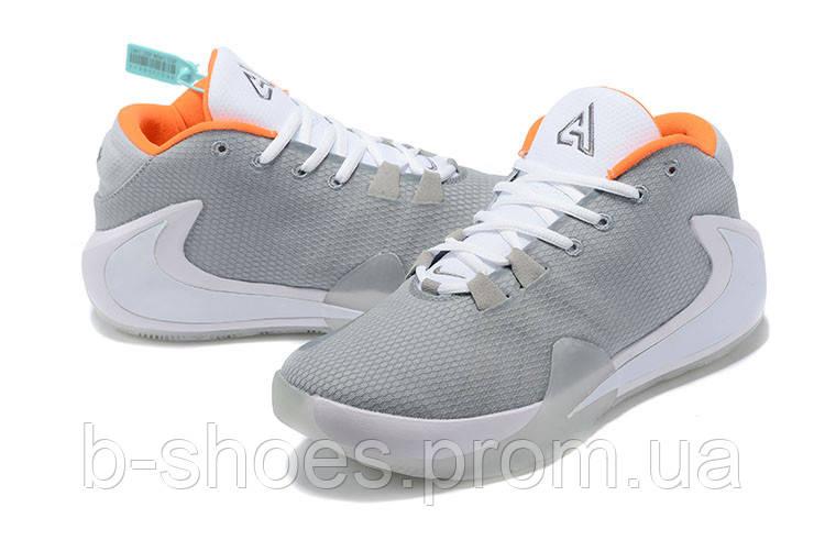 Мужские баскетбольные кроссовки  Nike  Greek Freak 1(White)