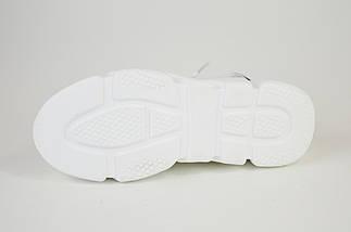 Босоножки на платформе Vikonty 181012 белые, фото 3