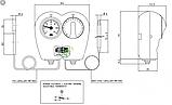 Термостат с термометром  Arthermo MULTI405 (Италия), фото 4