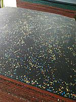 Гумова плитка 1000-1000 мм. Товщина 6 мм Армована., фото 1