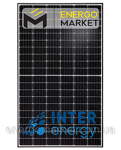 Монокристаллическая солнечная панель InterEnergy IE158-M120-340W (340 Вт, 5BB)