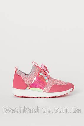 Текстильные кроссовки сетка, летняя спортивная обувь на девочек 33 р., H&M