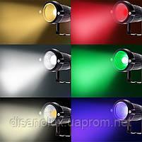 Світильник ландшафтний KL-2503 Spike в грунт COB 5W LED yellow 230V IP65 комплект 2шт, фото 5