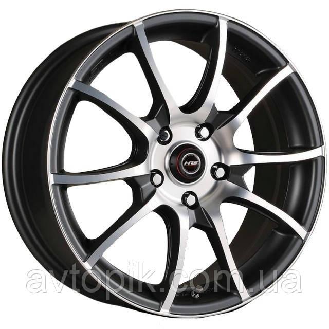 Литые диски Racing Wheels H-470 R15 W6.5 PCD5x114.3 ET40 DIA67.1 (BK-F/P)