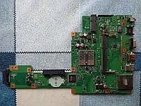 Материнская плата для ноутбука Asus x553 X553m X553ma rev. 2.0 нерабочая на запчасти