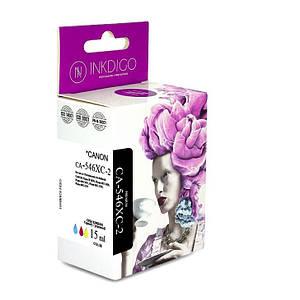 Совместимый картридж Inkdigo™ Canon CL-546 XL Color (8288B001) чернильный, цветной, 15 ml, (CA-546XC-2)